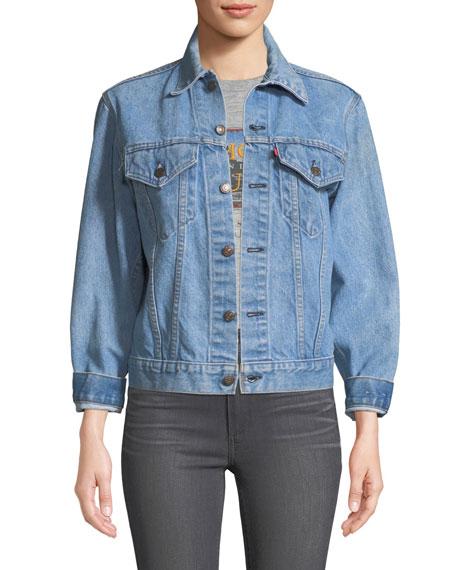Elizabeth & James Abbey Vintage One-of-a-Kind Denim Jacket