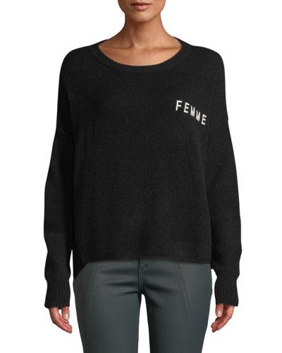 1f17c14666251 White Cashmere Sweater