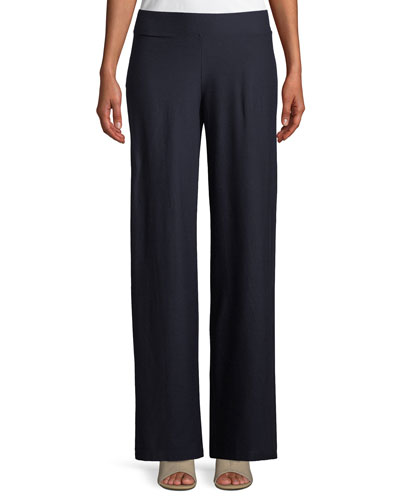 74e2ae516fd68 Quick Look. Eileen Fisher · Washable Stretch Crepe Modern Wide-Leg Pants