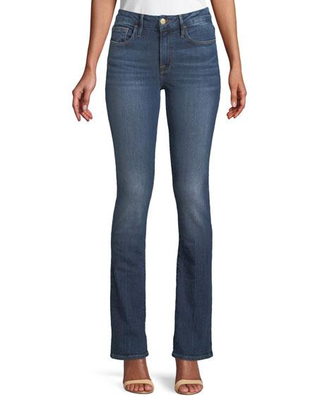 FRAME Le Mini Boot-Cut Skinny Jeans