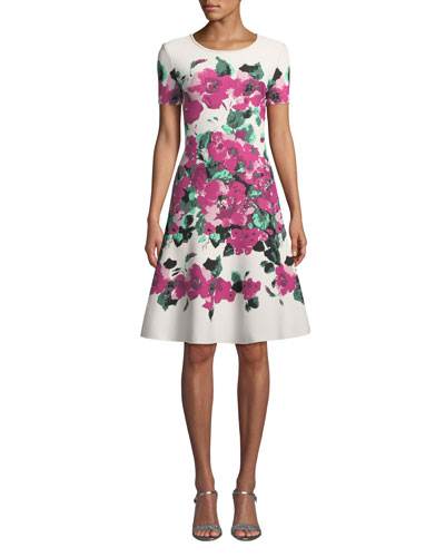 5567ba4537e0 St. John Collection Dress | Neiman Marcus