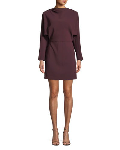 3f392d284af Quick Look. A.L.C. · Marin Long-Sleeve Cowl-Neck Dress. Available in Red
