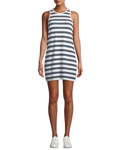 Todos Santos Knit Stripe Racerback Dress