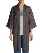 Elizabeth & James Vintage One-of-a-Kind Long Kimono