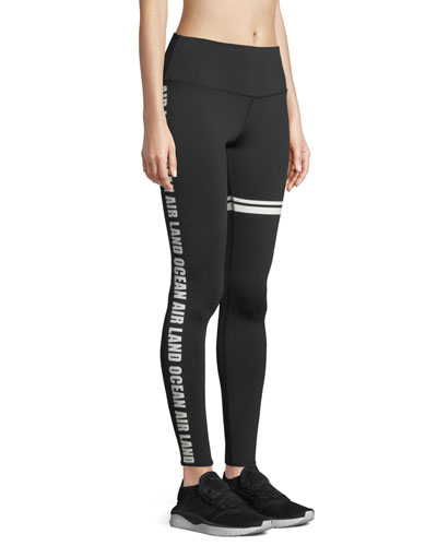 262dafb5d738c Quick Look. Alo Yoga · Airbrush Graphic High-Waist Sport Leggings