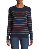 Kule The Samara Striped Cashmere Sweater