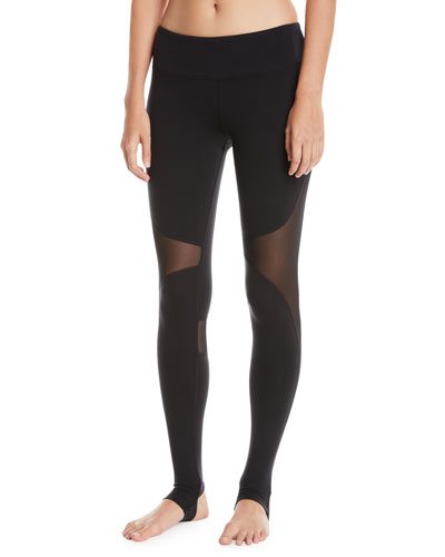 Coast Mesh-Panel Sport Leggings