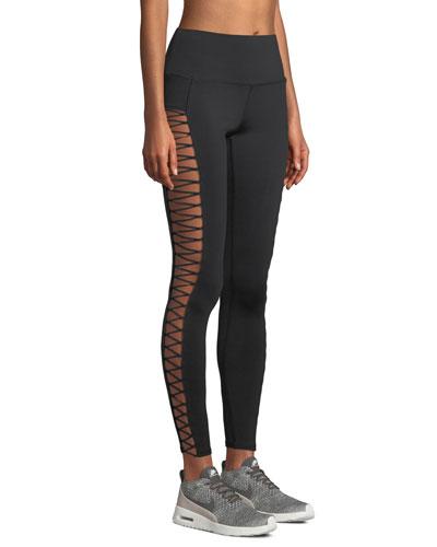 Highline Lace-Up Performance Leggings