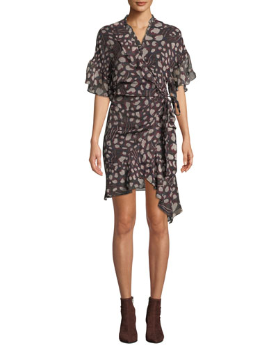 672cbe54e4 Draped Wrap Dress