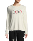 Chinti And Parker XOXO Wool-Cashmere Pullover Sweater