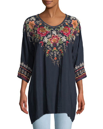 8f813c782c4e Womens Embroidered Top   Neiman Marcus