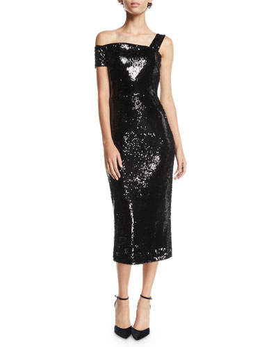 2557d0c0 Left Shoulder Dress | Neiman Marcus