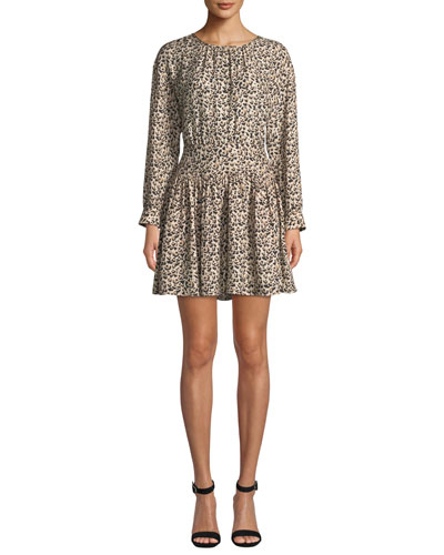2cd2040f020 Rebecca Taylor Back Zip Dress | Neiman Marcus