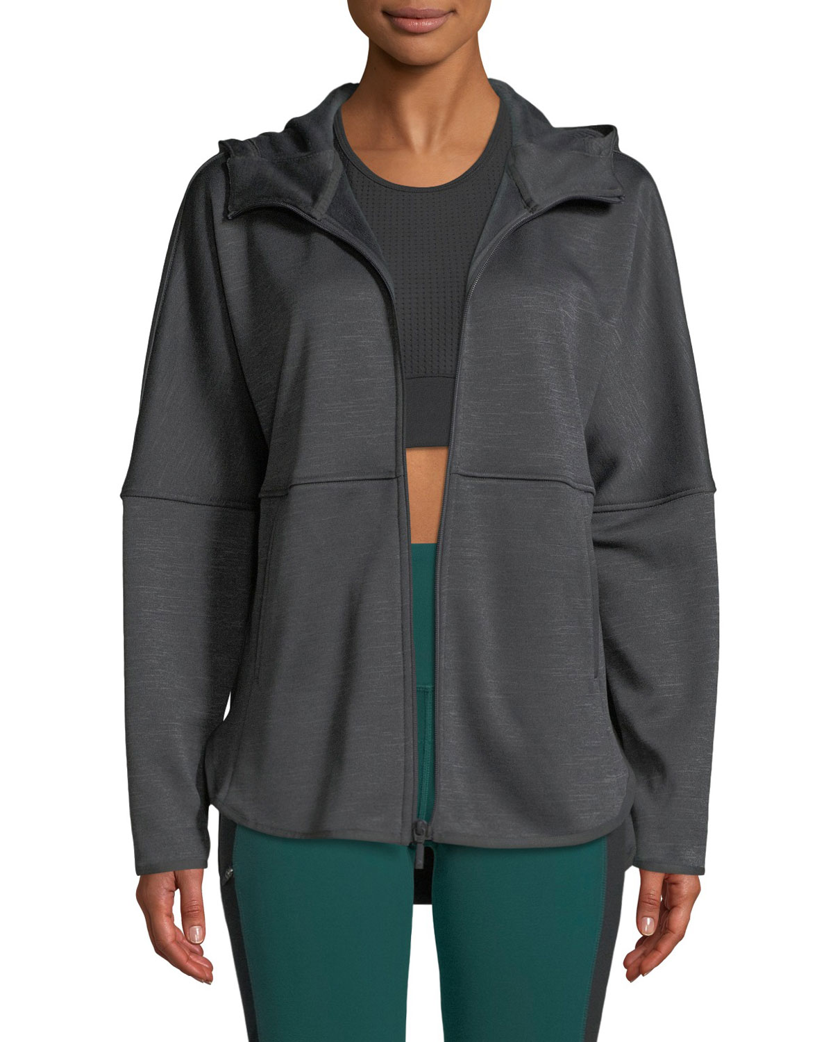 Cozy Slacker Full-Zip Hooded Jacket