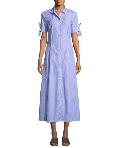 7abca07710d6 A Line Shirtdress Dress
