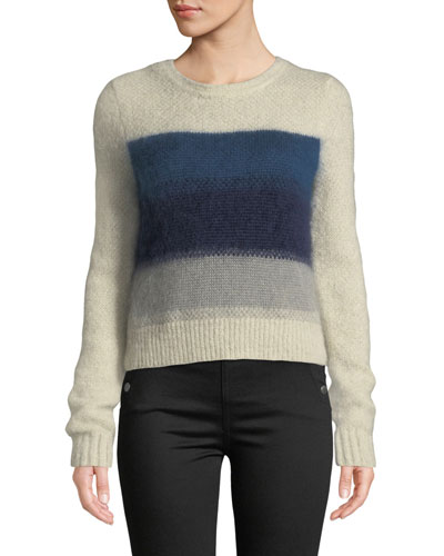 Holland Cropped Crewneck Sweater