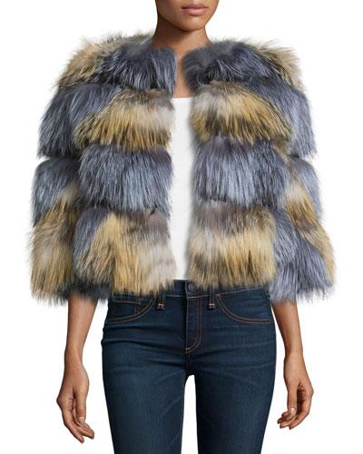 4817991d6509 Fox Fur Jacket