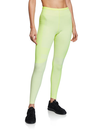 Tech Knit High-Rise Performance Tights