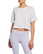 Nike Dri-FIT Short-Sleeve Cropped Tee