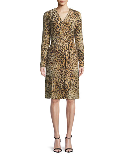 3df0fecf65 Quick Look. FRAME · Sgt. Pepper Leopard-Print Silk Dress