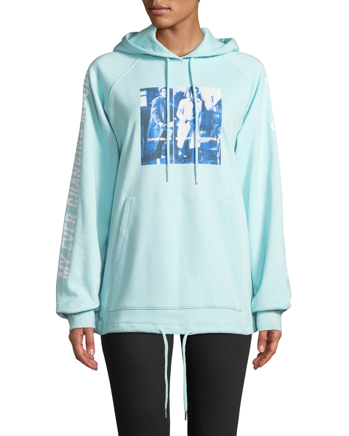 Style Council Boxy Graphic Pullover Hoodie