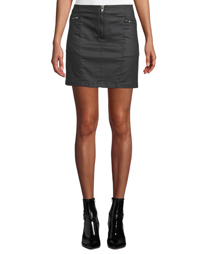 7e124362a3a Quick Look. Rebecca Minkoff · Emery Zip-Fly Denim Mini Skirt