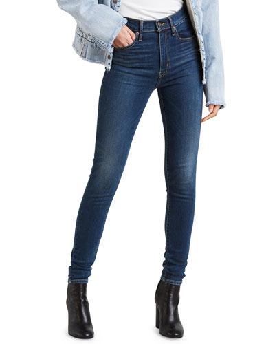 Mile High Super Skinny Ankle Jeans