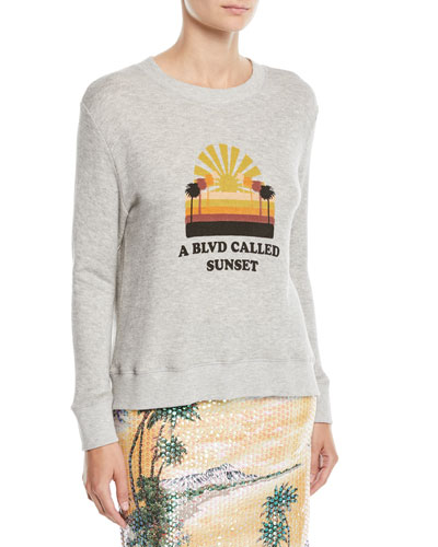 Bay St. Graphic Pullover Sweatshirt