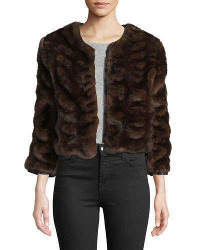 1a96fe0f481b Quick Look. Le Superbe · Warm Winters Chubby Faux-Fur Coat