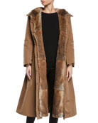 Max Mara The Cube Urbani Long Reversible Fur