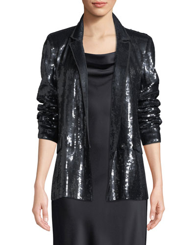 84076e5004e Quick Look. Joie · Diandra Sequin Tuxedo Jacket