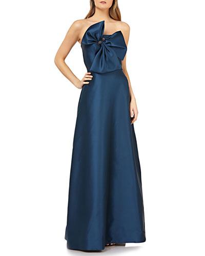 ec4787b172298 Strapless Gown | Neiman Marcus
