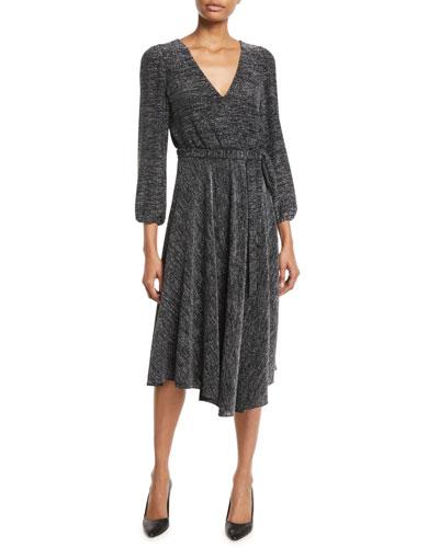 7c558e5709 Plunging V Neckline Dress