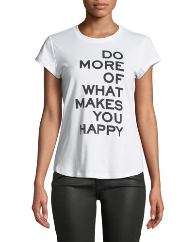 Do More Graphic Slim Tee