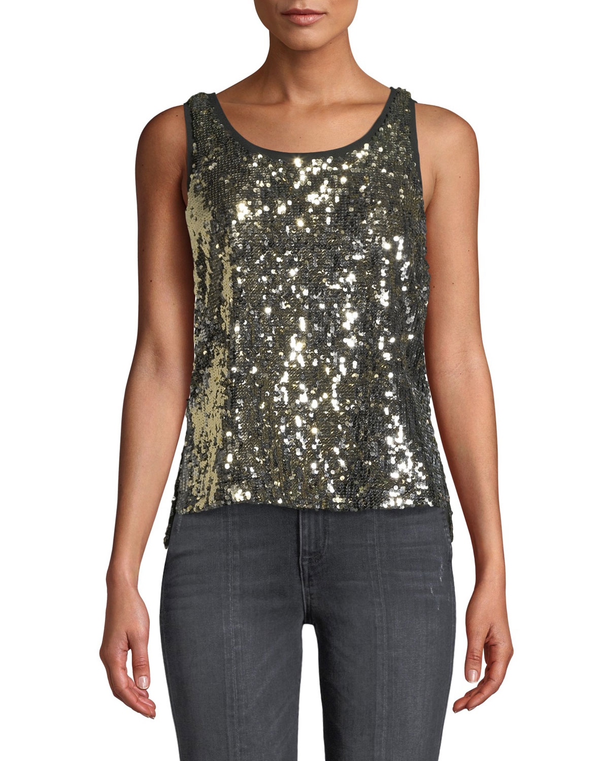 Emmett Sequin Tank Top