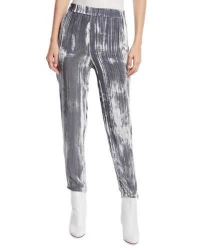 Marlee Velvet Jogger Pants