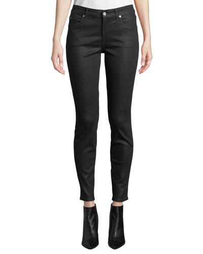 The Ankle Skinny Jeans - Coated