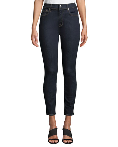 The Ankle Skinny High-Waist Jeans