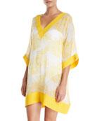 Chiara Boni La Petite Robe Helly Floral-Print Silk