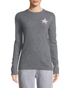 Bella Freud Billie Star Cashmere Sweater