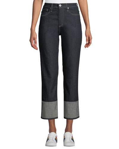 The Rhett Vintage High-Rise Straight-Leg Jeans