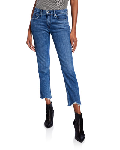Dre High-Rise Flare-Leg Jeans