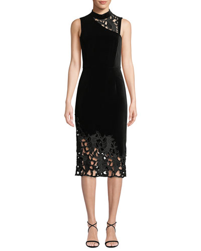a184d3a085da Black Mock Neck Dress