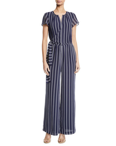 1572ffe27cd Quick Look. MICHAEL Michael Kors · Mega Railroad Striped Jumpsuit