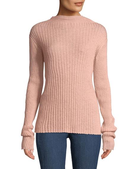 Rag & Bone Donna Ribbed Mohair Turtleneck Sweater