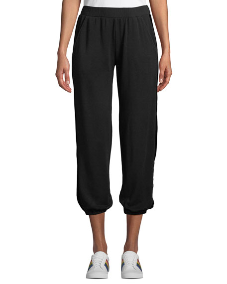 Velvet Joelle Jogger Pants with Velvet Racer Stripes