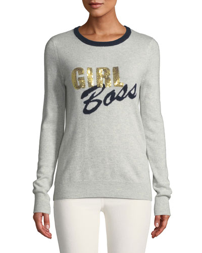 eea0f3cbc7 Quick Look. Autumn Cashmere · Girl Boss Cashmere Crewneck Sweater