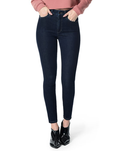 The Honey High-Rise Ankle Skinny Jeans