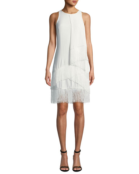 Joie Amiyah Fringe Sheath Dress