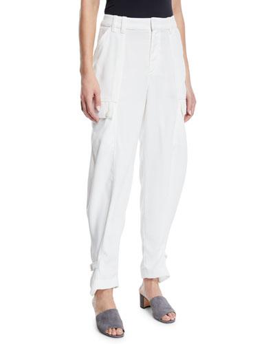 Alexica Draped Cargo Pants
